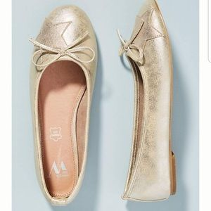 🆕NWT 9-9.5 Star City Genuine Leather Ballet Flat